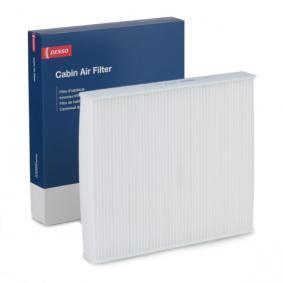 Filter, Innenraumluft Länge: 256mm, Breite: 224mm, Höhe: 36mm mit OEM-Nummer 6R0820367