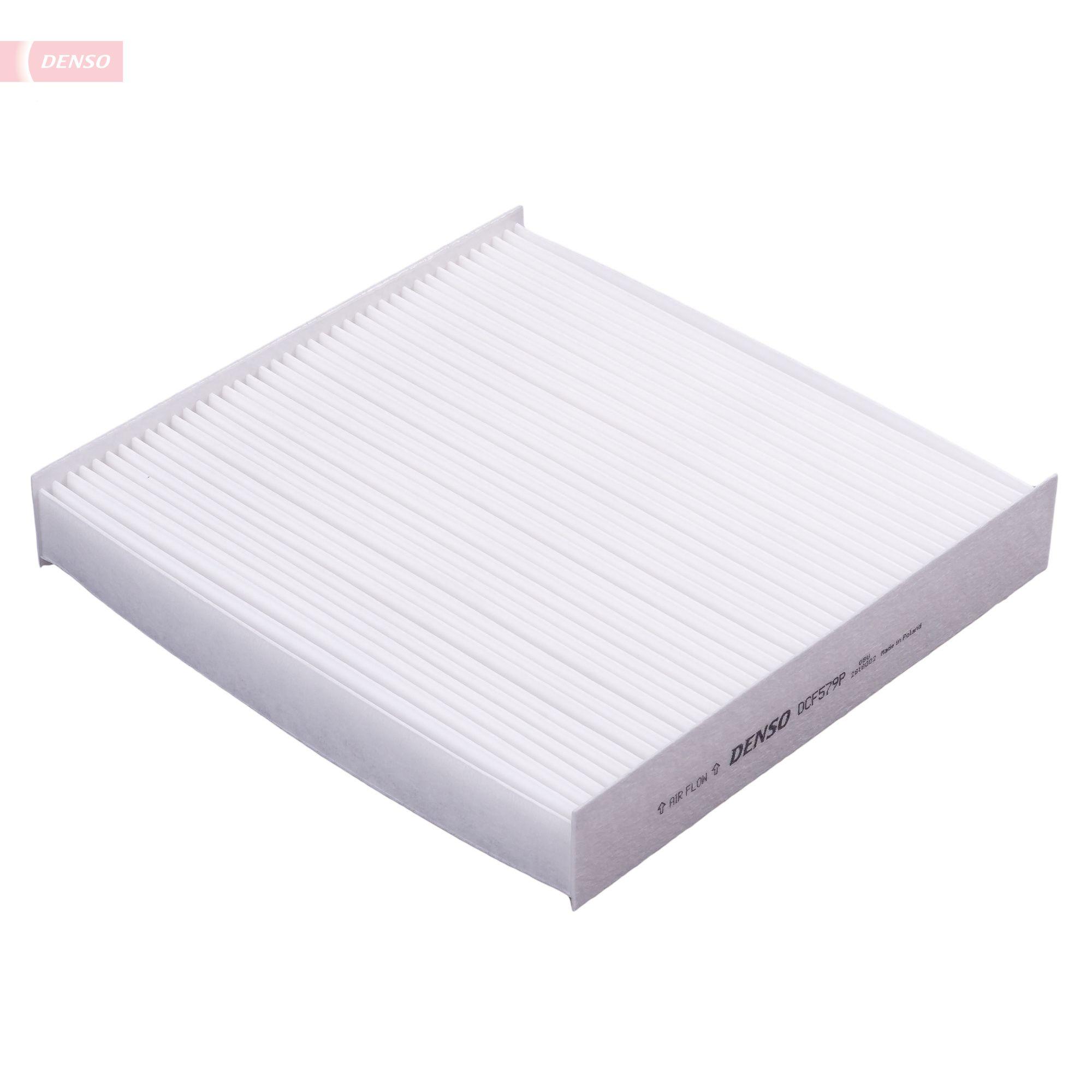 DENSO  DCF579P Filter, Innenraumluft Länge: 200mm, Breite: 213mm, Höhe: 34mm