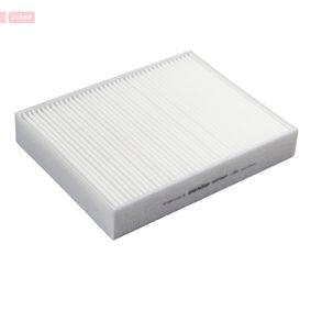 DENSO  DCF581P Filter, Innenraumluft Länge: 248mm, Breite: 198mm, Höhe: 40mm
