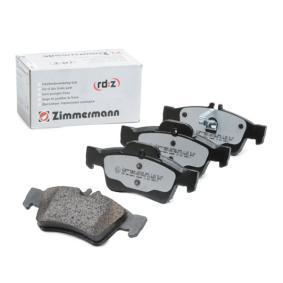 Brake Pad Set, disc brake 23334.965.1 E-Class Saloon (W212) E 350 3.5 4-matic (212.088) MY 2011