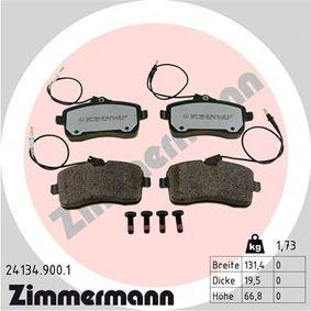 Bremsbelagsatz, Scheibenbremse Breite: 131mm, Höhe: 67mm, Dicke/Stärke: 20mm mit OEM-Nummer 425 332