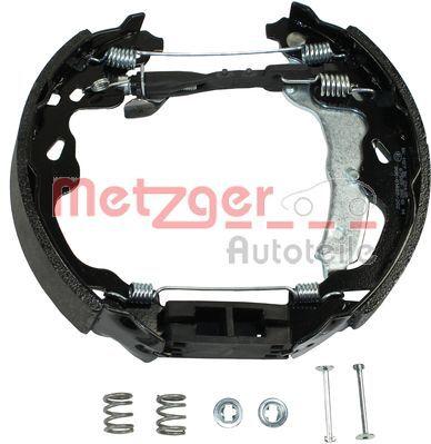 Brake Set, drum brakes MG 209V METZGER MG 209V original quality