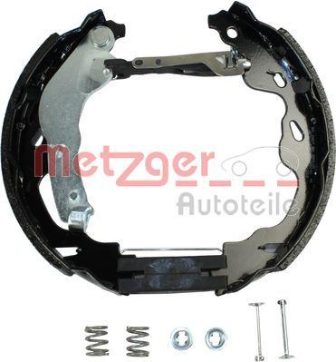 Brake Set, drum brakes METZGER MG 209V rating