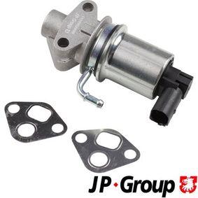 Touran 1T1, 1T2 1.6 AGR Ventil JP GROUP 1119902800 (1.6 Benzin 2008 BSF)