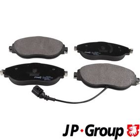 Brake Pad Set, disc brake Thickness: 20mm with OEM Number 3C0 698 151 G