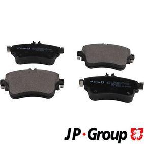 Bremsbelagsatz, Scheibenbremse Dicke/Stärke: 19,2mm mit OEM-Nummer A008 420 04 20