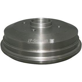 Brake Drum Ø: 180mm with OEM Number 4034886