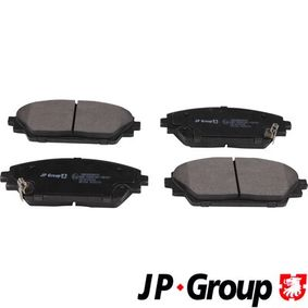 Brake Pad Set, disc brake Thickness: 15,8mm with OEM Number BHY1-3328ZA