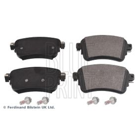BLUE PRINT  ADT342229 Brake Pad Set, disc brake Width: 53,5mm, Thickness 1: 16,5mm