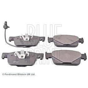 Kit de plaquettes de frein, frein à disque Largeur: 64,0mm, Épaisseur 1: 16,3mm avec OEM numéro 8W0698151Q