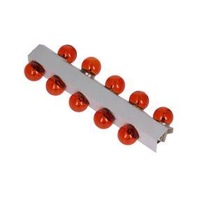 Glühlampe, Kennzeichenleuchte RY10W, BAU15s, 12V, 10W 78-0156SET