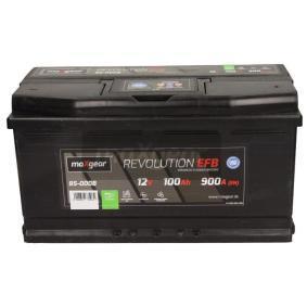 Starterbatterie Polanordnung: 0 mit OEM-Nummer 4D0 915 105 C