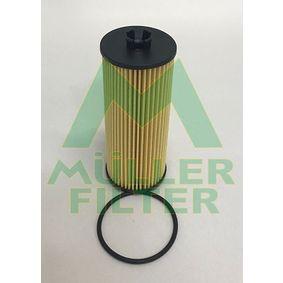 Ölfilter Ø: 57,4mm, Innendurchmesser: 23mm, Innendurchmesser 2: 9,5mm, Höhe: 136,5mm mit OEM-Nummer 278 180 00 09