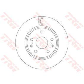 TRW  DF6703 Bremsscheibe Bremsscheibendicke: 22mm, Lochanzahl: 5, Ø: 279mm