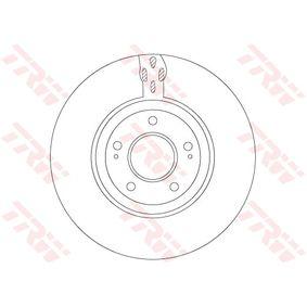 TRW  DF7302S Bremsscheibe Bremsscheibendicke: 32mm, Lochanzahl: 5, Ø: 320mm