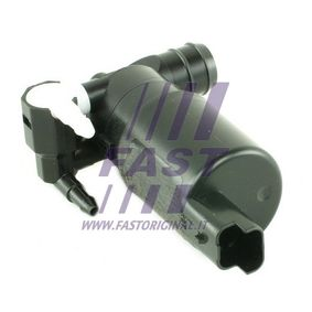 Water Pump, window cleaning Voltage: 12V, Number of connectors: 2 with OEM Number 77004-28386