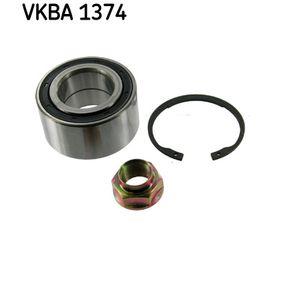 SKF  VKBA 1374 Комплект колесен лагер Ø: 76мм, вътрешен диаметър: 40мм