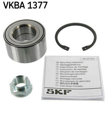 SKF  VKBA 1377 Wheel Bearing Kit Ø: 72mm, Inner Diameter: 38mm
