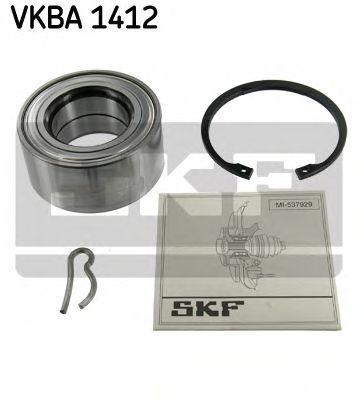 SKF  VKBA 1412 Radlagersatz Ø: 84mm, Innendurchmesser: 45mm