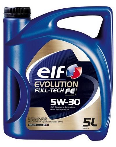 ELF Evolution, Full-Tech FE 2195305 Motoröl