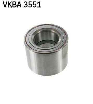 SKF  VKBA 3551 Wheel Bearing Kit Ø: 73mm, Inner Diameter: 40mm