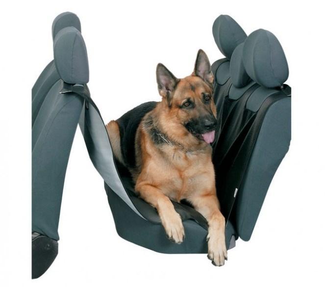 KEGEL  5-3201-245-4010 Housse de siège de voiture pour chien Longueur: 155cm, Largeur: 127cm