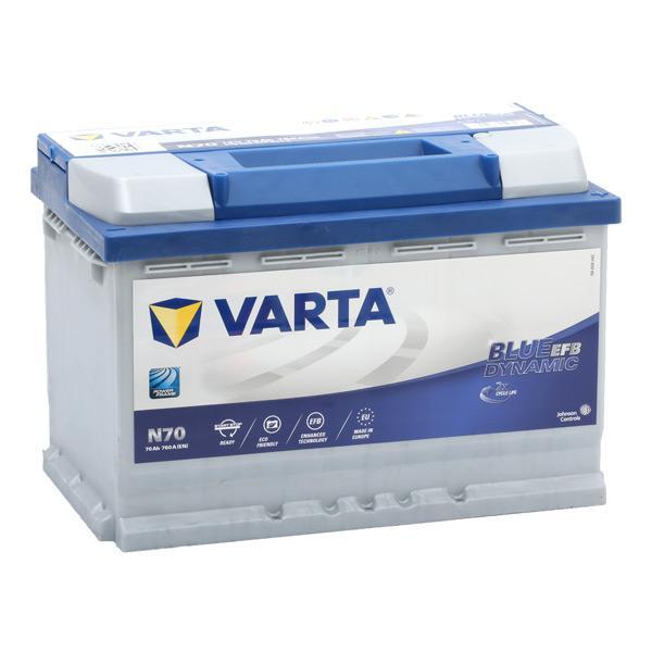 Batterij VARTA 659543 4016987152317