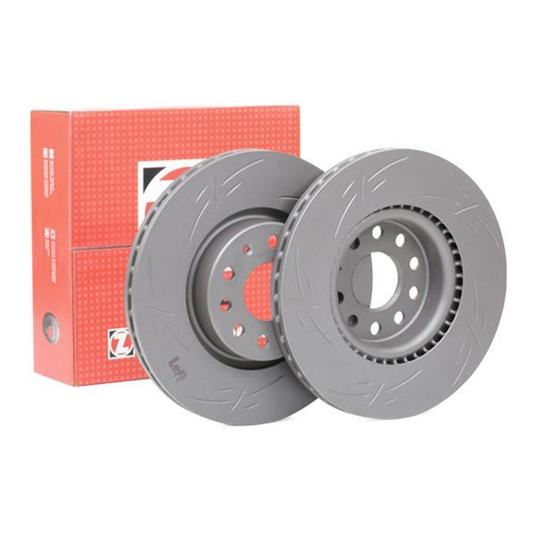 ZIMMERMANN BLACK Z 100.3300.53 Bremsscheibe Bremsscheibendicke: 25mm, Lochanzahl: 5, Ø: 312mm