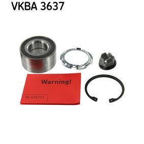SKF  VKBA 3637 Radlagersatz Ø: 72mm, Innendurchmesser: 37mm