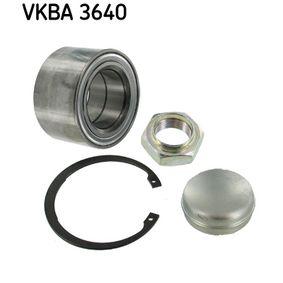SKF Hjullejesæt VKBA 3640 med OEM Nummer 1347527080