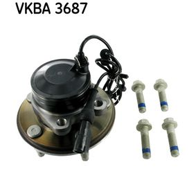 SKF  VKBA 3687 Radlagersatz