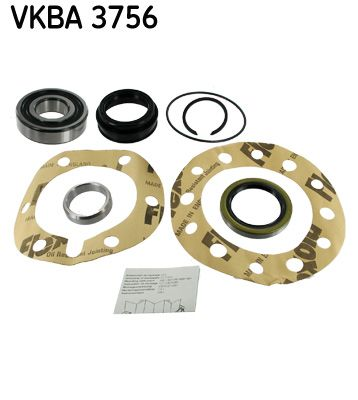 SKF  VKBA 3756 Radlagersatz Ø: 90mm, Innendurchmesser: 40mm