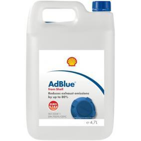 Flüssigkeit zur Abgasnachbehandlung bei Dieselmotoren / AdBlue SHELL BT68U für Auto (Inhalt: 4,7l, Kanister)