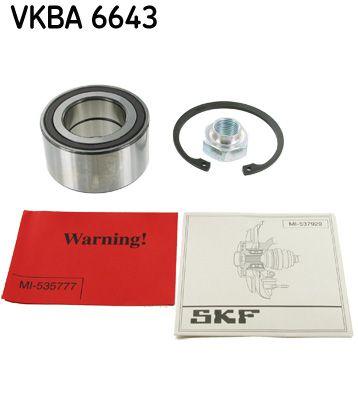 SKF  VKBA 6643 Radlagersatz Ø: 72mm, Innendurchmesser: 40mm