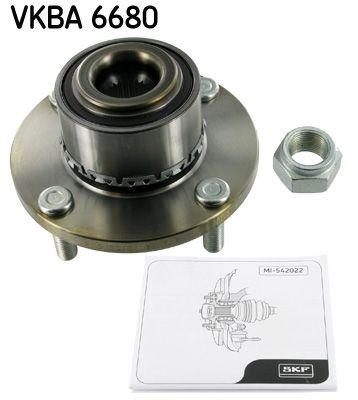 SKF  VKBA 6680 Radlagersatz Ø: 75mm