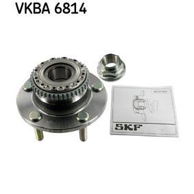 2009 Hyundai Coupe gk 1.6 16V Wheel Bearing Kit VKBA 6814
