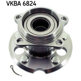 Juego de cojinete de rueda Nº de artículo VKBA 6824 120,00€