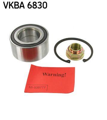 SKF  VKBA 6830 Juego de cojinete de rueda Ø: 84mm, Diám. int.: 45mm