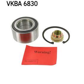 SKF  VKBA 6830 Wheel Bearing Kit Ø: 84mm, Inner Diameter: 45mm