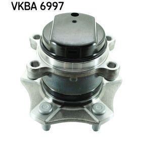 Kit cuscinetto ruota (VKBA 6997) per per Cuscinetto Ruota NISSAN QASHQAI / QASHQAI +2 (J10, JJ10) 1.5 dCi dal Anno 07.2008 103 CV di SKF