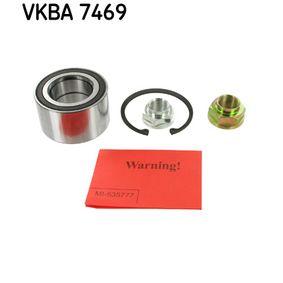 SKF  VKBA 7469 Wheel Bearing Kit Ø: 78mm, Inner Diameter: 43mm