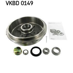 Bremstrommel Ø: 240mm mit OEM-Nummer 1H0 501615 A