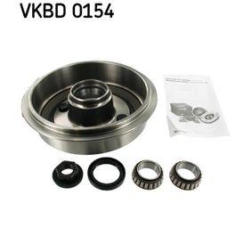 Brake Drum Ø: 216mm with OEM Number 1000859