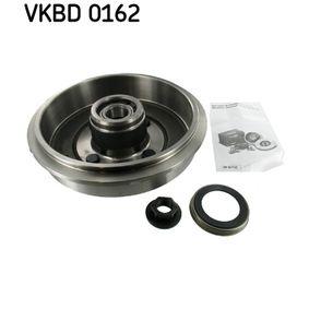 Brake Drum Ø: 243mm with OEM Number 1335383