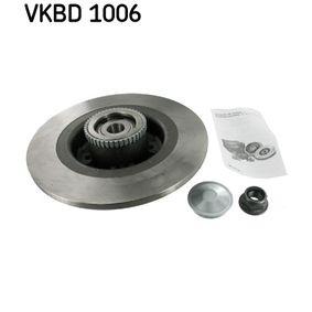 SKF Disco de travão VKBD 1006 com códigos OEM 7701206328