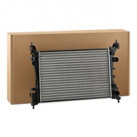 Kühler, Motorkühlung Netzmaße: 540x378x23 mit OEM-Nummer 1300279