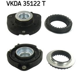 Top Strut Mounting with OEM Number 1K0412331 B