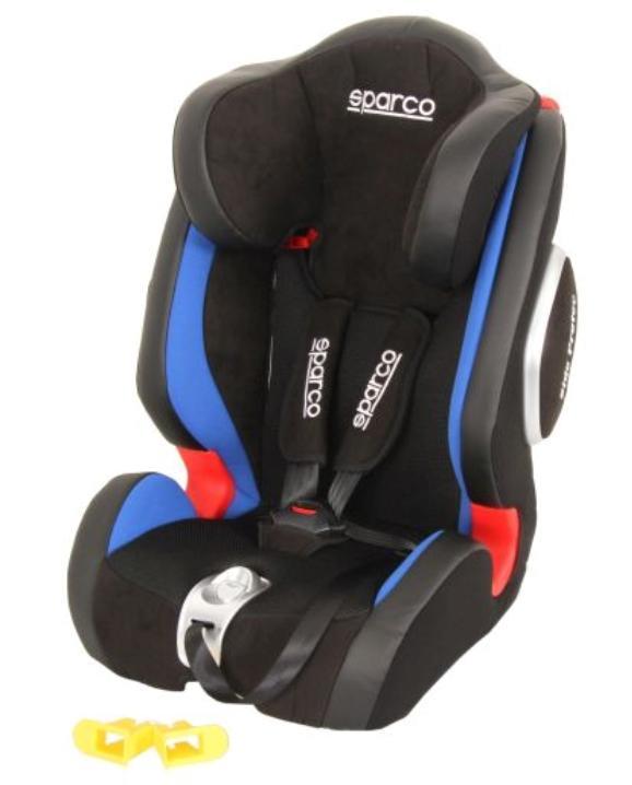 SPARCO F1000K PREMIUM 1000KIG123BL Детска седалка Тегло на детето: 9-36кг, Собствени предпазни колани: 5-точков обезопасителен колан
