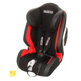 SPARCO F1000K PREMIUM 1000KIG123RD Seggiolino per bambini Peso del bambino: 9-36kg, Imbracatura del seggiolino: Cintura a 5 punti