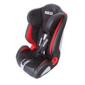Asiento infantil Peso del niño: 9-36kg, Arneses de asientos infantiles: Cinturón de 5 puntos 1000KPURS